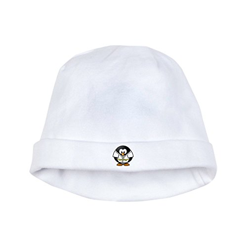 Truly Teague Baby Hat Little Round Penguin - Martial Arts Karate Judo - Cloud White