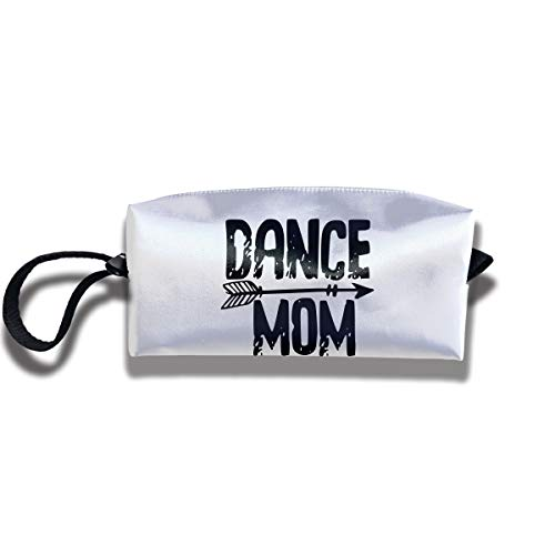 Cosmetic Bags With Zipper Makeup Bag Dance Mom Middle Wallet Hangbag Wristlet Holder