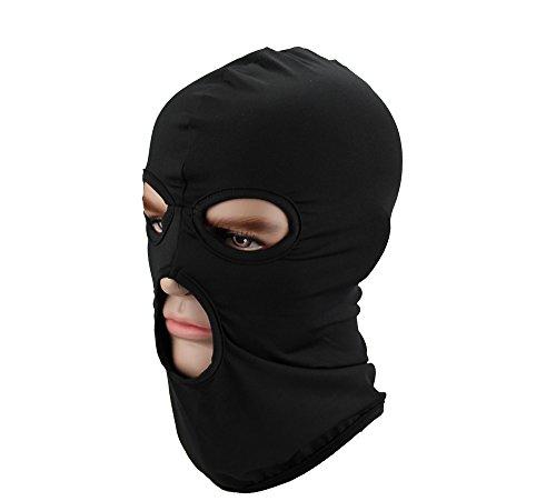 GANWAY Men Hat Cs Headgear Windbreak Headgear Outdoor Tactic Ride Balaclava Cap Head Cover Motorcycle Mask - Cap Black Ride