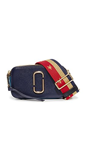 Price comparison product image Marc Jacobs Women's Snapshot Camera Bag, Midnight Blue Multi, One Size