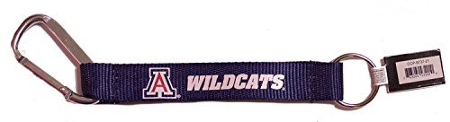 - NCAA Officially Licensed Carabiner Lanyard Keychain (Arizona Wildcats)