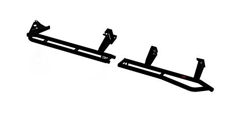 MBRP Exhaust 183519 Rock Rail Kit .120 in. Thick Walled Tubing 3/16 in. Fully Welded Mounting Brackets Black Powder Coating Rock Rail Kit