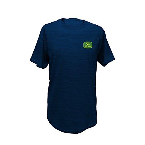 John Deere Men's Vintage Genuine Equipment T-Shirt-XL Navy
