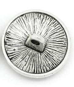 Handarbeit-Lieblingsladen 15 Botones met/álicos con Ojales 17 mm con dise/ño Celta de Plata Antigua. Aprox