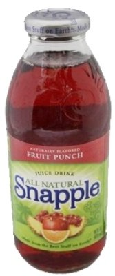 Snapple Fruit Punch Juice, 16 Ounce (24 Bottles)