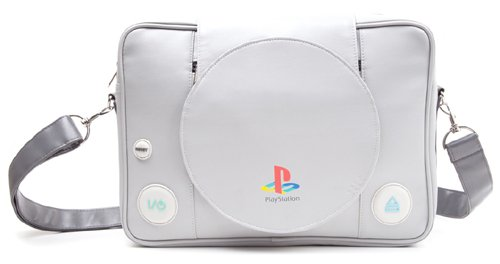 Sony Playstation: Playstation Console Shaped Messenger Bag (Built Hoodie Case)