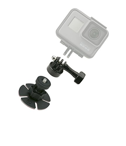 SCOSCHE AMK2 Closeup KIT Universal Action Camera Mount with GoPro Adapter for Cars, Trucks, Boats, ATVs, UTVs or Paddle Boards