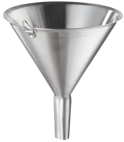Polar Ware T1808F Stainless Steel Utility Funnel, 8-3/8'' OD x 9-1/2'' H, 64 oz. Capacity by Polar Ware