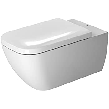 this item duravit happy d2 toilet bowl wall mounted rimless