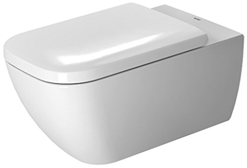Duravit 2550090092 Happy D.2 Toilet Bowl Wall Mounted Rimless