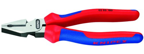 Knipex 0202180 7-1/4-Inch High Leverage Combination Pliers - Comfort Grip ()