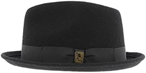 Sombrero Pork Pie Negro Broadway Herman – Mixta Negro negro ...