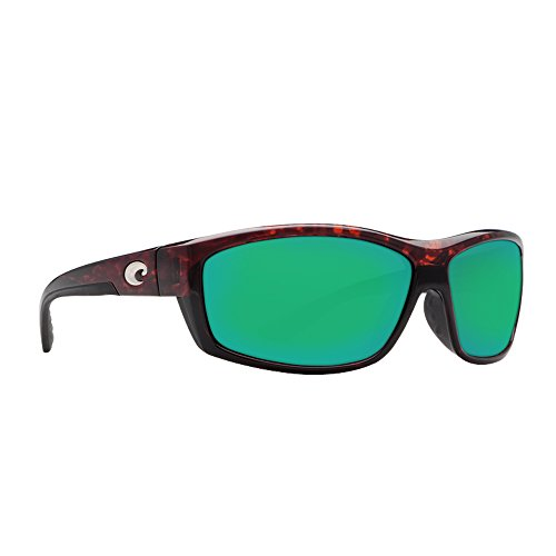 Costa Del Mar Saltbreak Sunglasses, Tortoise, Green Mirror 580G - 580g Sunglasses Costa
