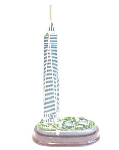 Freedom Tower Replica One World Trade Center Statue Figure New York City 6''