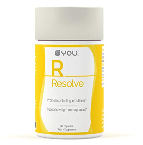 Yoli Resolve - Appetite Suppressant with Glucomannan and Apple Cider Vinegar
