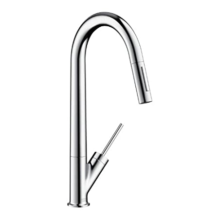 Hansgrohe Axor Starck Single Lever Kitchen Mixer With Pull