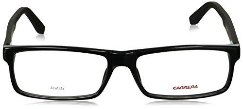 Carrera - CA 6655, Géométriques, acétate, homme, BLACK(KIN), 55/16/140