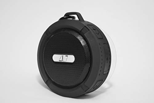 Black Bluetooth Wireless Portable Speaker Built in Mic IPX5.