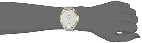Tommy Hilfiger Women's 'SPORT' Quartz Silver and Gold and Stainless Steel Casual Watch, Color:Two Tone (Model: 1781759)