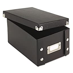 IDESNS01577 - Snap-n-store Snap \'N Store Collapsible Index Card File Box Holds 1