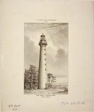 - Photo Lighthouse Hunting Island South Carolina 1874