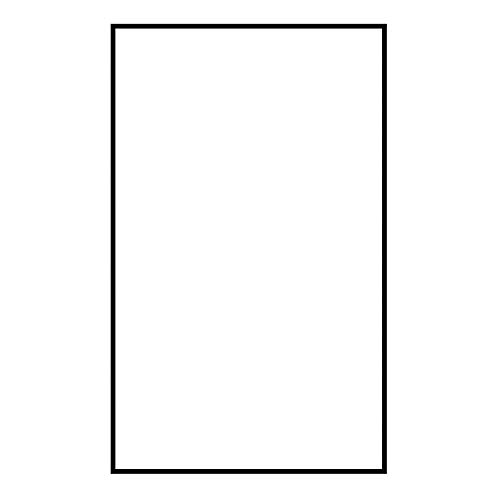 - Sea Gull 90619-68 Address Light Number Tile, Blank, White Plastic,4