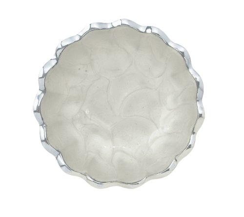 Julia Knight Peony Petite Bowl, 4-Inch, Snow, White