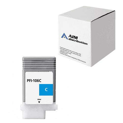 Sealed New Canon PFI-106C CYAN Ink Cartridge for iPF6300//6400 Genuine Canon