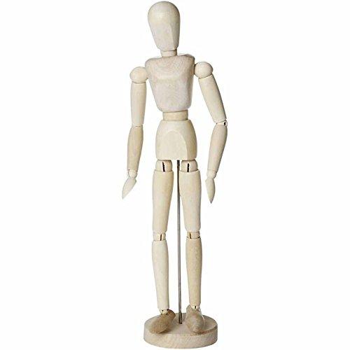 Manichino da disegno, H: 30 cm, femmina, 1 pz Creativ Company