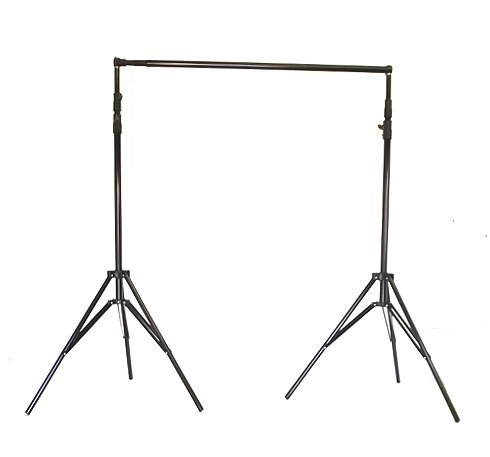 Neewer Photo Studio Backdrop Support System Background Stand 2.6M X 3M/8.5ft X 10ft Kit with Adjustable Cross Bar 121cm to 308cm/4ft to 10ft and Backdrop Stand Carrying Case for Muslins Backdrops and Chromakey Screens