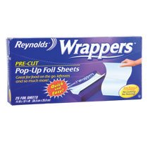 24 Pack - Reynolds Wrappers Pop-Up Foil Sheets, 25-ct. Boxes