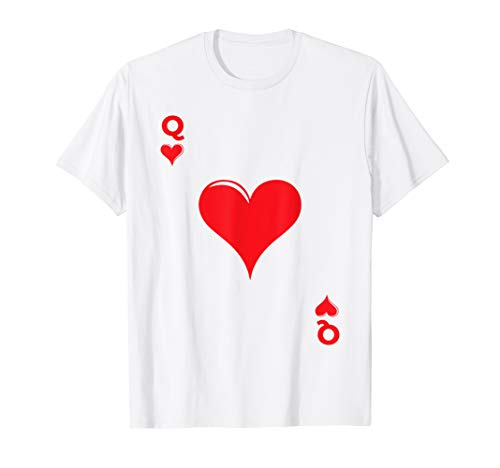 Playing Card Queen of Hearts Funny Halloween Costume