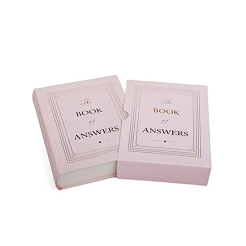 Price comparison product image JINPENGRAN The Book of Answers,  A Book That Can Answer Your Questions, Pink