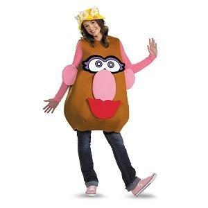 Disguise Mr./Mrs. Potato Head Deluxe Adult,Multi,XL (42-46)