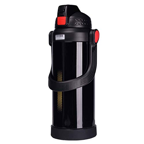 YINUO Cups Isolationskessel Outdoor Große Kapazität Reise 2.2L Haushalt Isolationsschale Tragbare Auto Flasche Edelstahl Isolation Pot