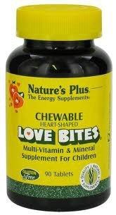 Love-Bites Children's Chewable Nature's Plus 90 Chewable by Nature's Plus - Chewable Love Bites