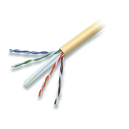 - Belkin A7L704-1000YL-P Solid Bulk Cable, Plenum (Yellow)
