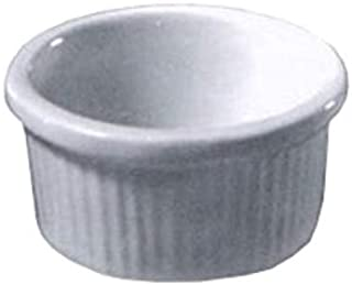 product image for Diversified Ceramics DC834 Ramekin, 2-3/4 oz, 2-3/4 inches Dia. x 1-1/4 inches H, Rolled Edge, Priced Per Case