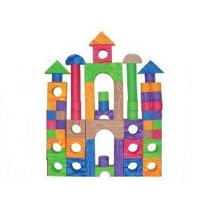 Verdes 60 Pcs Color Foam Blocks Toys Games