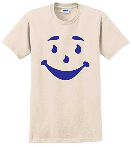 Kool AID Man FACE Funny Gift Halloween Costume Mens Adult TEE T-Shirt