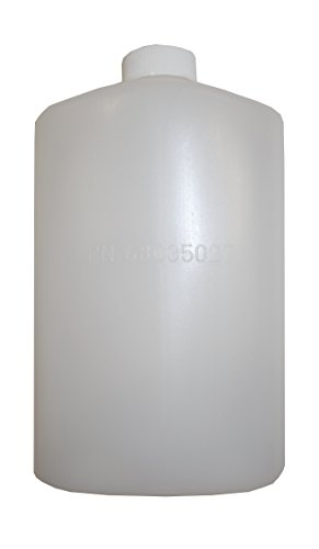 SportFlask by Mt Sun Gear- Fighter Pilot Flask great for concerts, fishing, skiing, backpacking, hiking - 16oz US Military issue Plastic BPA Free Made in USA (Natural)