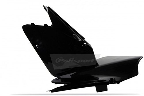 Polisport Side Panels Black for Suzuki RM125 RM250 01-08 ()