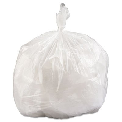 33 Gallon High Density Can Liner, 16 Micron Equivalent in Clear