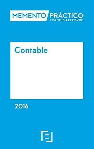 Descargar Libro Memento Practico Contable 2016. Pod Lefebvre-el Derecho