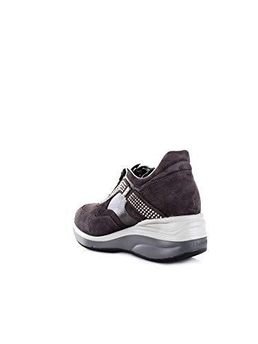 4us Sneakers Pelle Donna Grigio Paciotti Cesare Ssed3wcaantracite UBwqfxa
