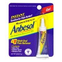 Anbesol liquide anesthésique oral Force Maximum Gel - 0,25 Oz