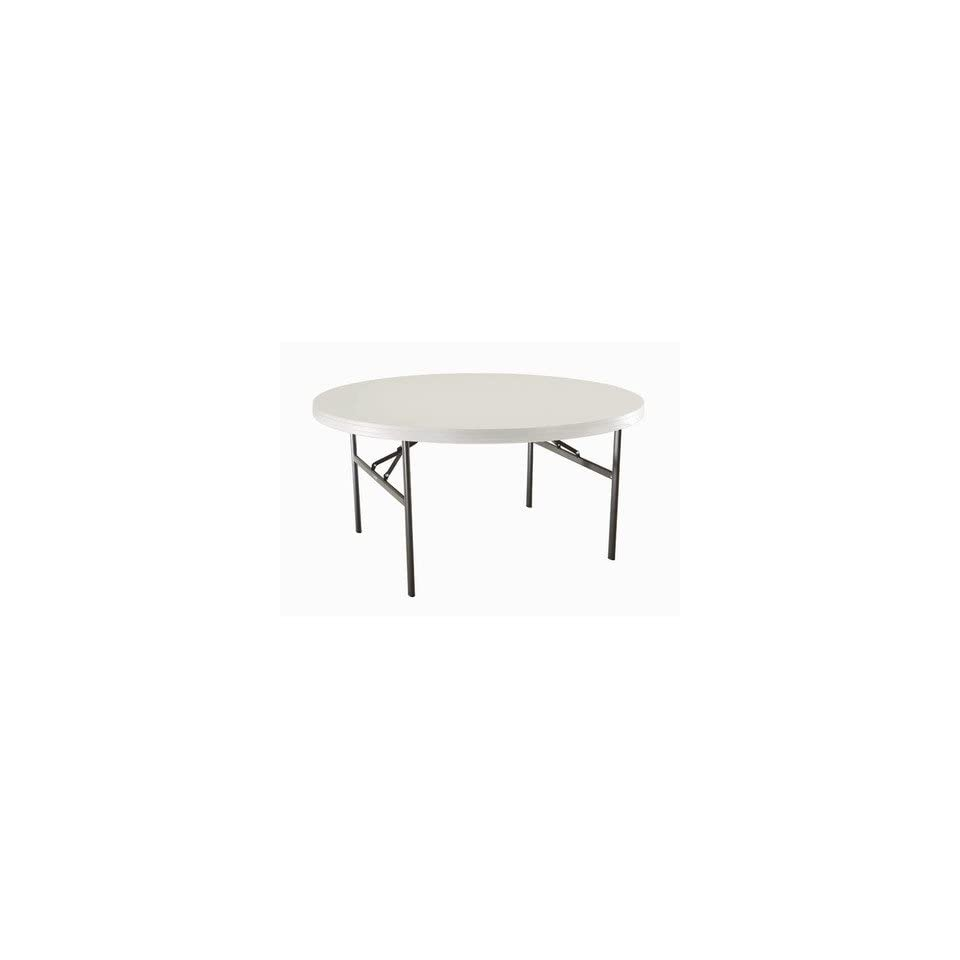 Lifetime 2970 60 Round Commercial Grade Table in White