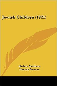 Jewish Children (1921)