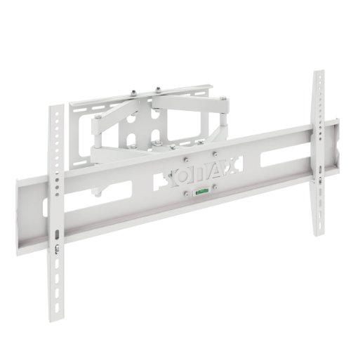 Sonax M-011-MPM Full Motion Flat Panel Wall Mount Stand for 37-Inch to 70-Inch TV, White