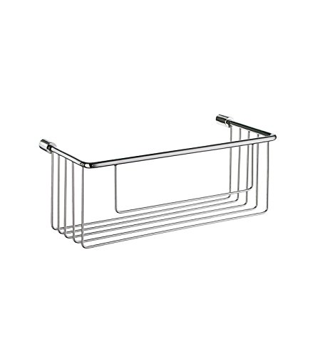 Smedbo SME DK1002 Soap Basket Straight 1 Level, Polished Chrome, ()